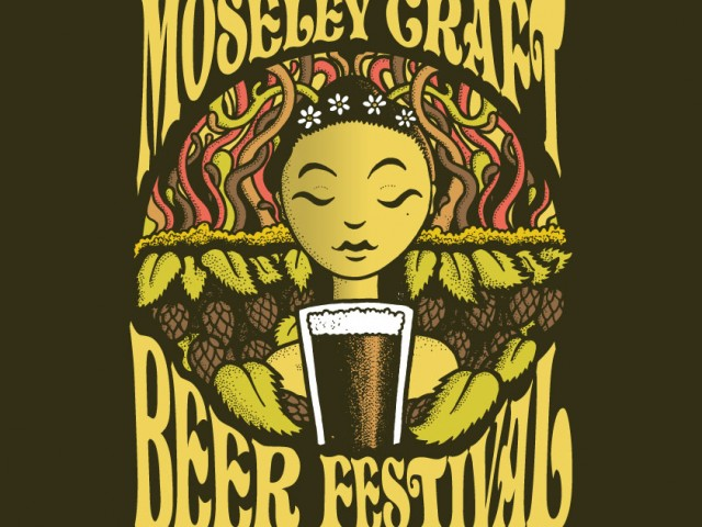 Moseley Craft Beer Festival – Illustrated logo