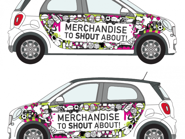 Brand Me Now – Smart car wrap